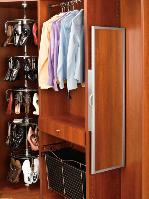 Pull Out Mirror Closet Accessories